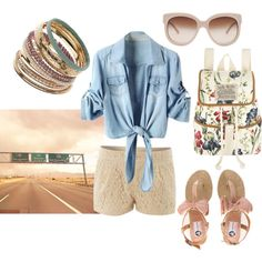 """""""Summer Road Trip"""" by heychloe on Polyvore"""