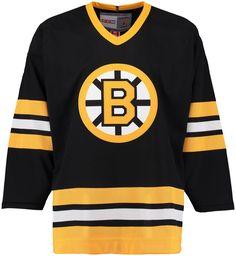 Boston Bruins CCM Vintage 1982 Black Replica NHL Hockey Jersey Nhl Hockey  Jerseys 066eeb72a