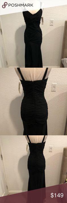long formal dress Black formal dress Dresses Prom
