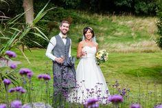 Bride and groom walk through the garden at Fernhill House Hotel Stunning Summer, Absolutely Stunning, Beautiful, Hotel Wedding, Summer Wedding, Groom, Flower Girl Dresses, Gardens, Weddings