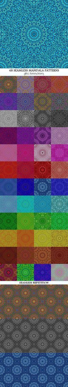 Bohemian Art, Bohemian Design, Boho Designs, Mandala Pattern, Mandala Design, Mandala Art, Baby Blue Colour, Blue Colors, Background Patterns