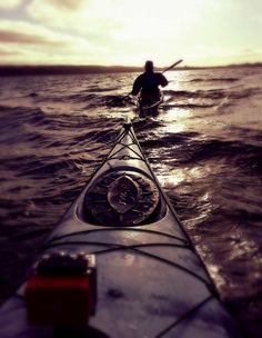 Kayaking the Irish sea ... Patrick's friends Sailing this route? After Passover :)