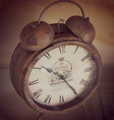 LOVE ...  old alarm clock