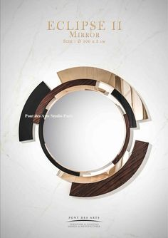 Mirror Painting, Mirror Art, Diy Mirror, Mirrors, Metal Wall Decor, Metal Wall Art, Metal Clock, Brass Metal, Mirror Inspiration
