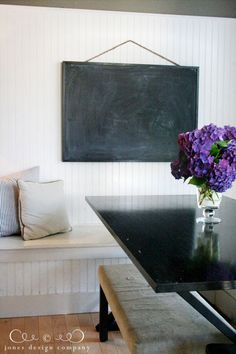 simple diy chalkboard