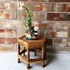 Hey, I found this really awesome Etsy listing at https://www.etsy.com/listing/489792744/vintage-bamboo-plant-stand
