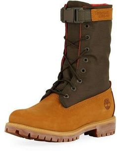 696ba712fbe3 Timberland Men s Premium Gaiter Boot with Canvas Trim Latest Clothes For  Men