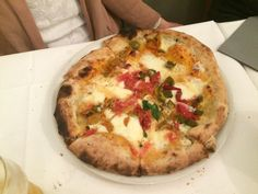 This is one #pizza of many we had here. And, to me, they were the best ones I have ever tasted (!) at #Grigoris #Asseggiano #Venice