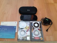 Sony PSP 3000 Piano Black Handheld-Spielkonsole