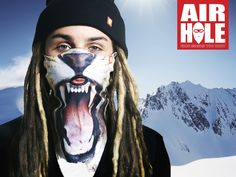 Airhole ansigtsmaske - Beskyt ansigtet og træk vejret let!