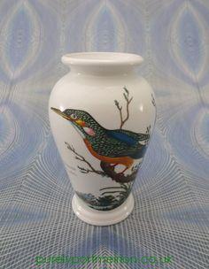 Portmeirion Birds Of Britain Vintage Canton Vase No4