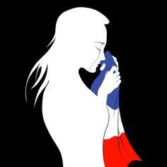 Peace for Paris by Ardate on DeviantArt Cast Art, Deviantart, Art, Aurora Sleeping Beauty, Pray For Paris, Pictures, Street Art