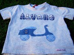 Camiseta Álvaro moto