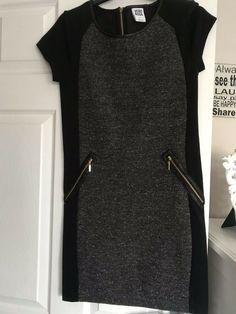 9083909d02f Vero moda dress black and grey marl size Small  fashion  clothing  shoes