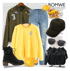 """""""romwe"""" by perfex ❤ liked on Polyvore featuring Oris"""