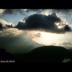 頂上の景色 view from the #top of #mountain #patyas #coron #island #philippines #フィリピン #リゾート #sky #cloud #空 #雲