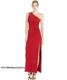 Kleid mit spitze dekoltee