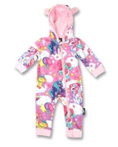 Other Baby and Toddler Clothing 1070: Six Bunnies Baby Hooded Romper Sleep N Play Onesie Playsuit Pegasus Unicorns 18M -> BUY IT NOW ONLY: $34.99 on eBay!