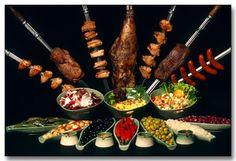 Brazilian food!!!  Brazilian Churrasco. Yum soo good, can't wait to have it brazil!