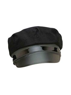 5b3234b6b5e05 Check out Adult s Black Chauffeur Cap - Adult Costumes for 2018