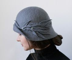 by Vaiva Nat,  Lithuania  #Felt #Fashionable #Hat