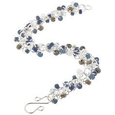 Blue Jean Baby Shaggy Loops Bracelet Kit by Weave Got Maille   Fusion Beads