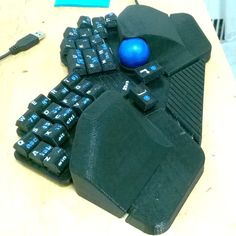 Reduced key-set with per finger keys alignment for comfortable fast typing. It has well-known QWERTY layout, familiar numeric keypad and standard arrow keys arrangement. Palm-rests and overall geometry addressing the CTS. Built-in pointing device. Whole 105+ keyboard emulation including the numeric keypad and F-keys. Game-pad mode. Keyboard body and palm-rests have a lot of space for laptop grade hardware. This keyboard can be easily converted into a portable computer to be used with home…