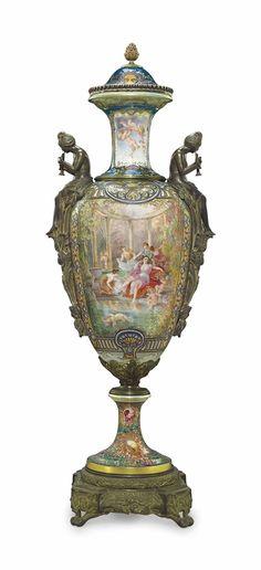 65 Best Porcelain Bronze Enamel Images On Pinterest Vintage