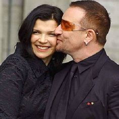 Happy anniversary to Bono and his wife of 34 years, Alison Stewart