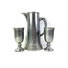 Medieval Home Decor, Wilton Armetale, Copper Candle Holders, Tin Art, Pewter Metal, Water Pitchers, Wine Goblets, Scandinavian Art, 15th Century