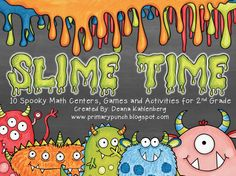 Slime Time math centers