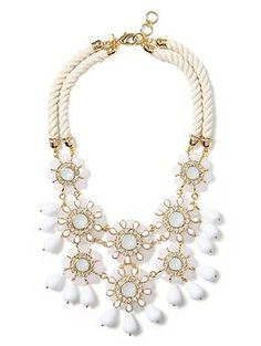 Catalina Bib Necklace | Banana Republic