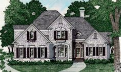 exterior   HousePlans.com 129-135