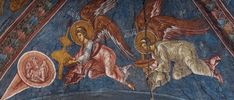 A special collecton of images of Angels - all Byzantine frescos from Serbian Churches Order Of Angels, Paint Icon, Hagia Sophia, Serbian, Byzantine, Fine Art Gallery, Art Oil, Fresco, Digital Art
