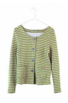 Chaqueta de rayas color mostaza    http://www.drbloom.es/coleccion/chaqueta-rayas-mostaza-592.html