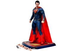 Hot Toys Man of Steel Superman Figure Close Up