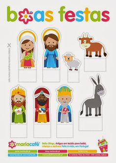 Presépio                                                                                                                                                                                 Mais Christmas Tale, Toddler Christmas, Christmas Nativity, Noel Christmas, Christmas Crafts, Nativity Clipart, Nativity Crafts, Christmas Activities, Christmas Printables