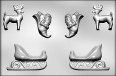CK Products Santa Sleigh and Reindeer Chocolate Mold *** You can find out more details at the link of the image.