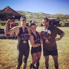We did it! Almost 9 miles (less than I was expecting) 20 something obstacles lots of sunshine mud and steep hills and we managed to have a blast the entire time. Thank you team mates! But did you die? #spartan #butdidyoudie #wekilledit #spartanrace #sanjose #super