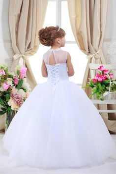 Luxury Flower girl Dress for Special Occasions by Prettygirldress