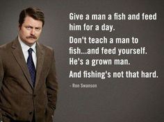 Ron Swanson Libertarian Quote.