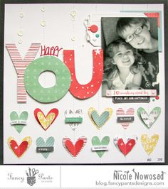 Happy You...single photo layout