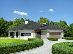 DOM.PL™ - Projekt domu Dom przy Pastelowej 3 CE - DOM EB4-39 - gotowy projekt…