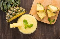 Nutrisystem's Deanna Otranto demonstrates how to prepare a delicious Pineapple Mango Smoothie.