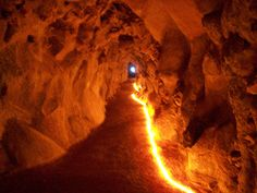 Tunnel starting from the Eastern Grotto, Quinta da Regaleira, Sintra, Portugal Antelope Canyon, Lisbon, Cool Places To Visit, The Good Place, Sintra Portugal, Travel, Amazing Places, Fishing, Spaces
