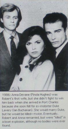 Robert, Anna & Duke 1986