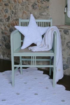 Star White / Estrella Blanca #washablecushion #lorenacanals #kidsdecoration