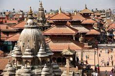 Patan Durbar tér Kathmandu, Nepál Csilla Zelko