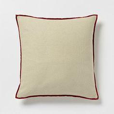 Cotton Velvet Duo Pillow Cover  Natural Autumn #WestElm