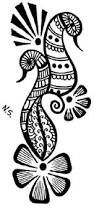 Image result for easy mehndi animal designs for kids